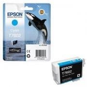 Мастилница Epson T7602 Син, C13T76024010