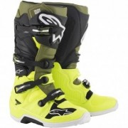 ALPINESTARS Botas Alpinestars Tech 7 Yellow Fluo / Military Green / Black
