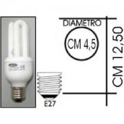 Lampada risparmio energetico 20W E27 3 tubi Kapta