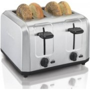 Hamilton Beach 6SXGO990IYPT 500 W Pop Up Toaster(Silver)