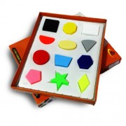Kids Mandi Shape Sorter A Pre-School Puzzle of 12 Basic Shapes and Colours