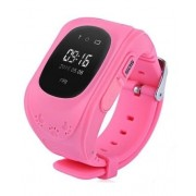 "Smartwatch iUni Kid60 70991-1, 0.96"", GPS, Bratara silicon, dedicat pentru copii (Roz)"