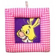 Tablou textil pentru perete Disney Iepure, carouri roz