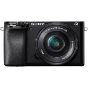 Sony »Alpha 6100 Kit mit SELP1650« Systemkamera (SELP1650, 24,2 MP, NFC, Bluetooth, WLAN (Wi-Fi), schwarz