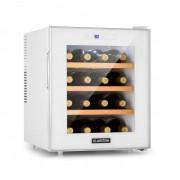 Klarstein Reserva 16 Blanco, хладилник за вино, 16 бутилки / 48 l, LED дисплей, бяла (HEA8-Reserva16W)
