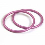 Inele pentru sling Pink - 87mm, Didymos (2 buc)
