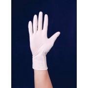 Védőkesztyű, egyszer használatos, latex, 8-as méret (ME612)