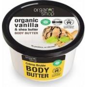 Unt de corp Organic Shop delicios crema de zahar ars Creme Brulee, 250 ml