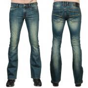 Uomo i pantaloni (jeans) WORNSTAR - Hellraiser - Annata Blu - WSP-HRBV