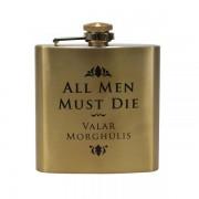 Half Moon Bay Game of Thrones Hip Flask Valar Morghulis