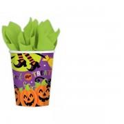 Halloween Papír pohár 8 db-os 266 ml