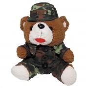 Plyšový Teddy MFH 28 cm - flecktarn