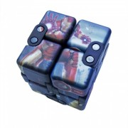 Dayspirit Avengers Patron Infinity Cube magico cuadrado Flip Spinner Toy