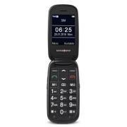"""Swisstone BBM 625 2.4"""" Nero, Argento Telefono di livello base"""