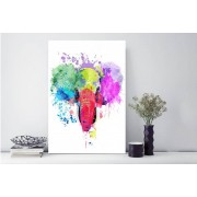 Gallery SI Limited t/a Colour House From £6.95 for a colour splash animal print from Colour House - choose from five sizes
