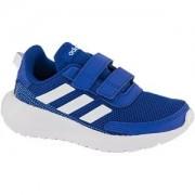 Adidas Blauwe Tensaur Run klittenband