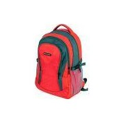 Mochila para Notebook Multilaser High School Nylon Vermelha - Até 15,6