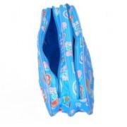 Kuber Industries Travel Organiser,Toiletry Bag,Multi Purpose Kit In Imported Material (Waterproof) Travel Toiletry Kit(Blue)