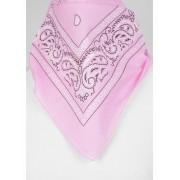 Boerenzakdoek / bandana in licht roze