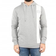 by risqué Grey White Stripe Hoodie