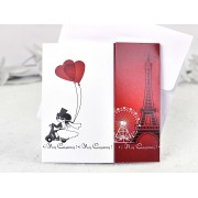 Invitatie nunta Turnul Eiffel cod 35658