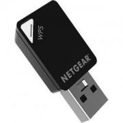 Адаптер Netgear AC600 WiFi USB Mini Dualband - A6100-100PES