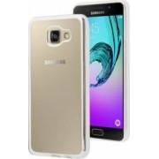 Skin Electroplating Silicon OEM Samsung Galaxy A3 A310 2016 Argintiu