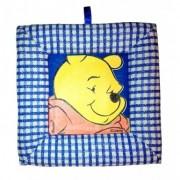 Tablou textil pentru perete Winnie the Pooh, carouri albasru I