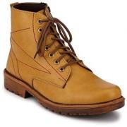 ZebX Tan Casual Boot