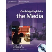Cambridge English for the Media Student's Book with Audio CD, Paperback