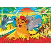Puzzle Clementoni - The Lion Guard, 24 piese XXL (57126)