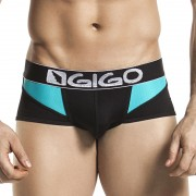Gigo MIX BLUE BLACK Short Boxer Underwear G02145