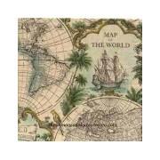 Paquete de servilletas Mapa
