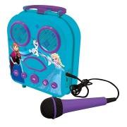 Lexibook Jégvarázs Hordozható karaoke mikrofonnal