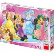 Puzzle 4 in 1 - Printese jucause 54 piese