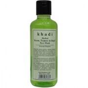 Khadi Herbal Neem Teatree Basil Face Wash - 210ml