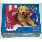 Golden Retriever Puppy - 100 Piece Jigsaw Puzzle