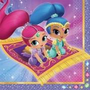 Shimmer és Shine szalvéta Aladdin 20 db-os
