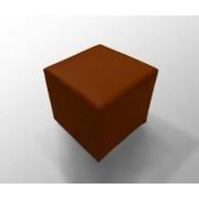 Tabure Joker eko koža - narandzasta, dimenzije 40x40x40cm, 2041628