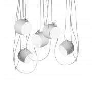 Flos Aim small Sospensione LED 5 foyers, blanc