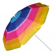 Umbrela pentru plaja, 180 cm, Multicolor