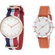 TRUE CHOICE DW MLATI AND ORNGE WOMEN WATCH WITH6 MONTH WRROTY