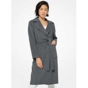MK Double Face Wool Blend Robe Coat - Derby - Michael Kors
