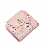Just Star Zgrabny dziewczęcy portfel Różowy