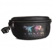 Чанта за кръст COACH - Rxy Crg Blt Bg 72688 Black Multi