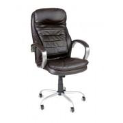 Fotel biurowy VIP MASSERANO - brązowy