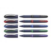 ROLLER SCHNEIDER ONE BUSINESS, 0,6 MM mov Roller Plastic Medie bleumarin fara mecanism