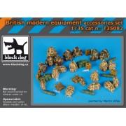 Black Dog - British modern equipment accessories set 1:35