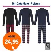 Ten Cate Men Pyjama Navy/Grey-L