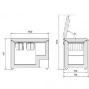 GARANTIE 4 ANI Lada frigorifica Liebherr, Comfort, StopFrost, FrostProtect, control electronic, clasa A+, alb GT 3622